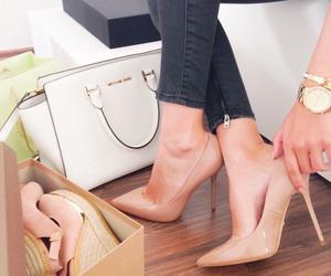 fashion, high heels, and girl image