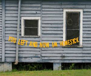 quotes, yellow, and homesick image