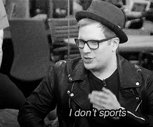 bw, fall out boy, and FOB image