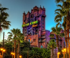 disney and tower of terror image