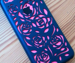 case, iphone, and roses image