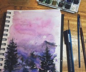 art, colors, and Dream image
