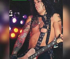 babe, bassist, and motley crue image