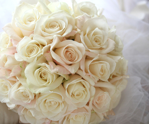 bouquet, flowers, and peony image