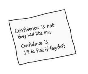 confidence, hope, and quote image