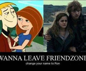 ron, harry potter, and kim possible image