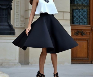 fashion, skirt, and pretty image