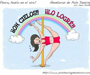 fuerza, love, and pole image
