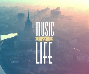 music, life, and city image