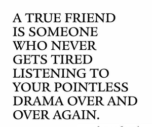 friends, true, and drama image