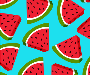 background, fruit, and watermelon image