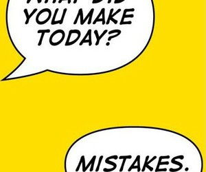 mistakes, life, and quotes image