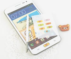 iphone, kawaii, and rilakkuma image