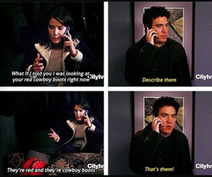 funny, himym, and how i met your mother image