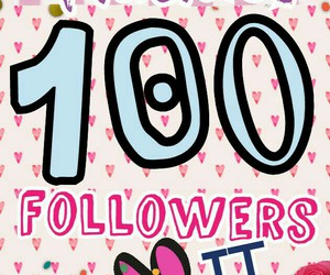 followers, thanks, and we heart it image
