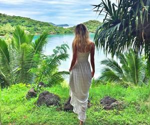 fashion, girl, and paradise image