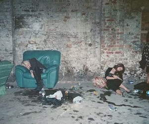 grunge, party, and drunk image