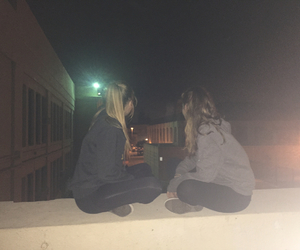 best friend, scary, and school image