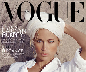 vogue, carolyn murphy, and vogue thailand image