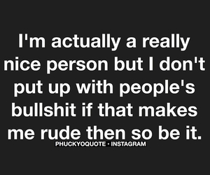 bullshit, people, and quote image