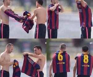 xavi, Barca, and Barcelona image