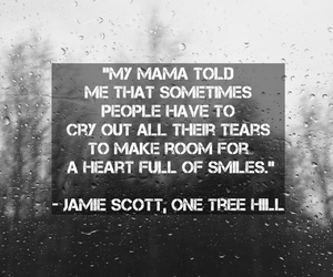 cry, one tree hill, and happy image