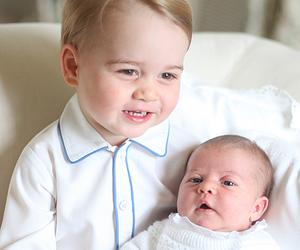 princess charlotte, prince george, and princess image