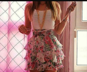cute, outfit, and skirt image