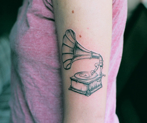tattoo, music, and arm image