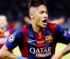 fc barcelona and neymar image