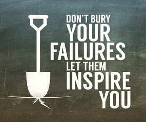 failure, inspire, and quote image