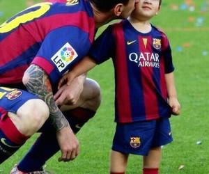 messi, Thiago, and Barcelona image