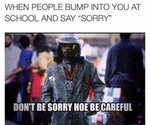 funny, school, and careful image