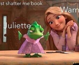 funny, juliette, and tangled image
