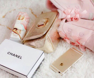 chanel, girly, and iphone image