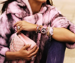 Adriana Lima, pink, and beautiful image