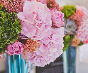 bouquet, decorate, and flowers image