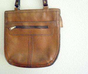 purse, vintage, and messenger bag image