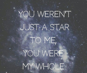 quote, stars, and wallpaper image