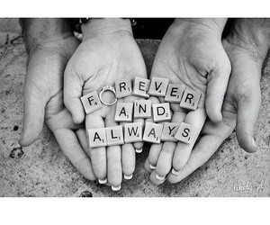 forever, always, and love image