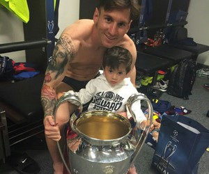 messi, champion, and Barca image