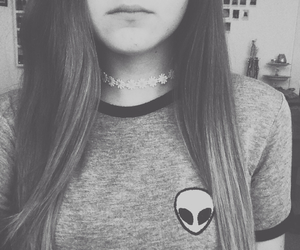 hipster, alien, and grunge image