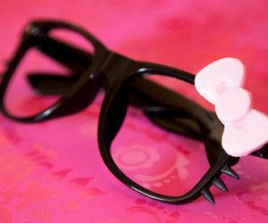 *-*, girl, and glasses image