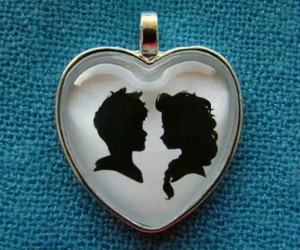 beautiful, couple, and neckless image