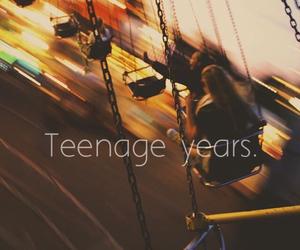 teenage and years image