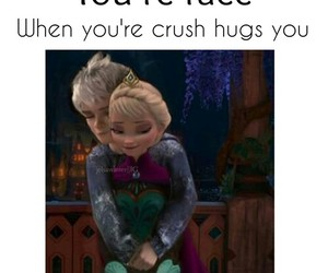 crush, funny, and jelsa image