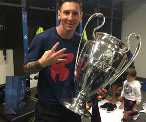 messi, champion, and fc barcelona image