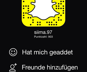add, follow, and snap chat image