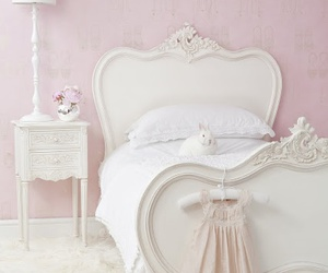 bedroom, bunny, and pastel image