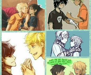 otp, percy jackson, and nico di angelo image